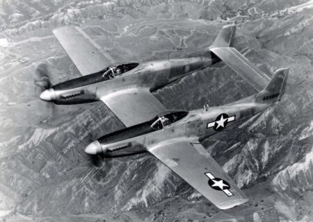 نیم نگاهی به هواپیمای نورث امریکن P-82 توین ماستنگ+عکس