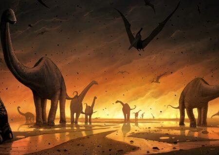 یافته هایی جدید از انقراض دایناسور ها