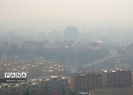 هشدار هواشناسی نسبت به آلودگی هوای ۶ شهر