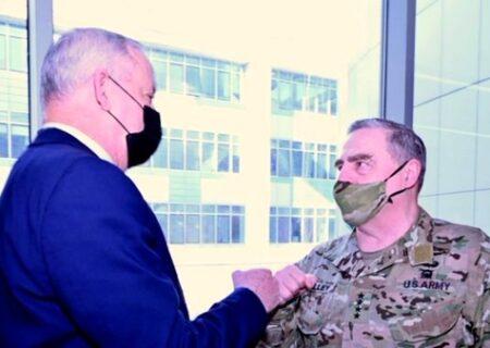 رایزنی وزیر جنگ رژیم صهیونیستی و رئیس ستاد مشترک ارتش آمریکا درباره ایران