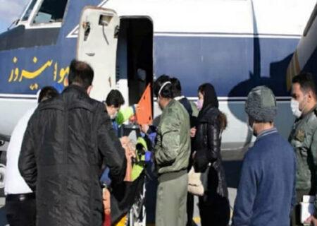 عملیات ویژه برای نجات جان بیمار اراکی با هواپیمای هوانیروز + عکس