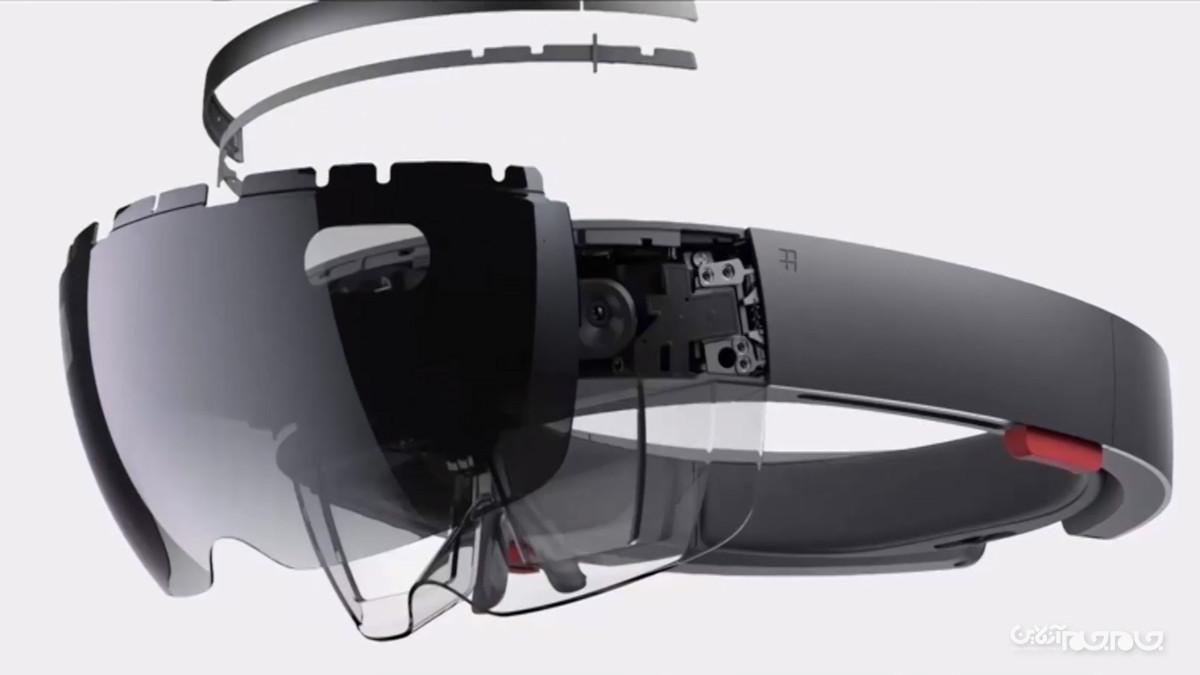 پنل میکرو LED؛ راهکاری جدید از سوی مایکروسافت برای کاربردیترکردن هولولنز+عکس