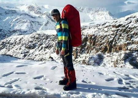 پایان تلخ صعود کوهنورد اصفهانی به دماوند / ۱۲ روز بعد جنازه اش پیدا شد