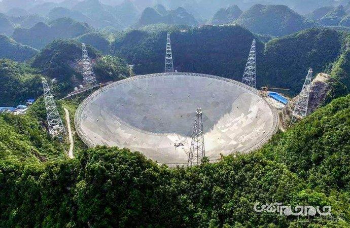 بزرگترین رادیوتلسکوپ جهان (FAST) بهروی دانشمندان جهان باز میشود + عکس