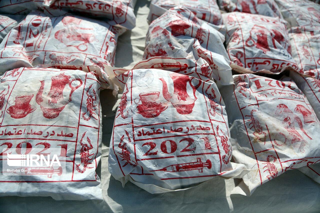 کشف بیش از یک تُن موادمخدر در مرزهای جنوب شرق