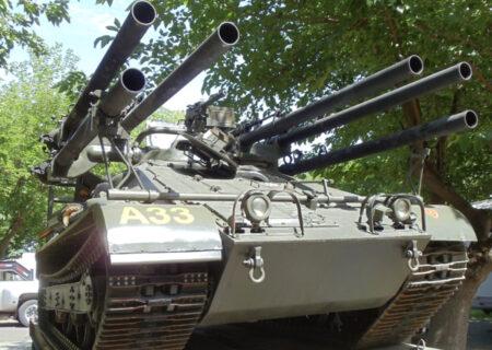 بررسی یک شکارچی تانک، M50 Ontos+عکس