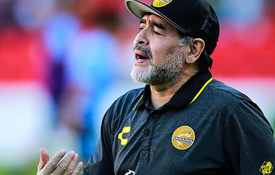 مارادونا خودکشی کرده است