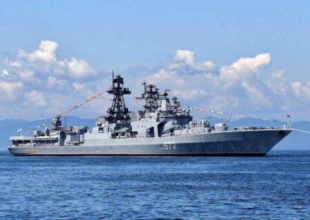 واکنش قاطع نیروی دریایی چین نسبت به ناوشکن متخلف آمریکایی