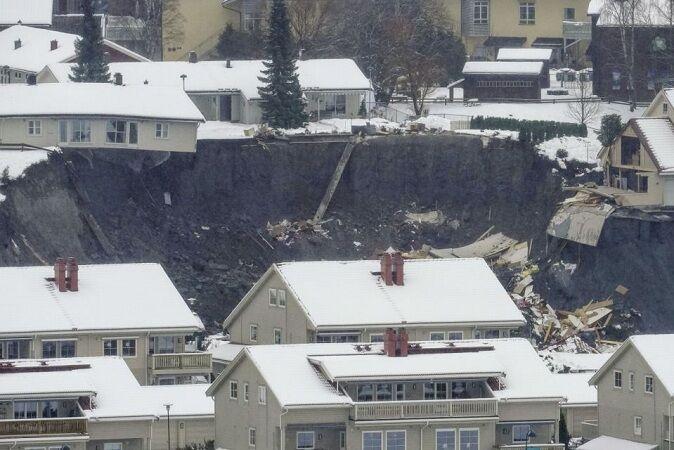 رانش زمین در نروژ