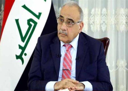 عبدالمهدی اتهامات علیه دولتش درباره ترور شهیدسلیمانی را رد کرد