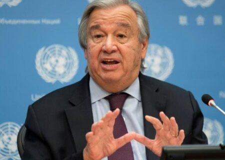 گوترش : رهبران کشورها « وضعیت اضطراری آب و هوایی » اعلام کنند