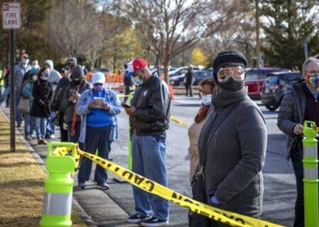 سرنوشت سنای آمریکا در دست مردم جورجیا/ انتخابات زودهنگام آغاز شد