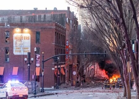 رسانه های آمریکا: انفجار نشویل احتمالا اقدام برای خودکشی بود