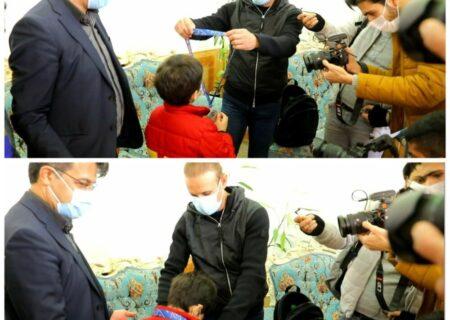 مدال نقره یحیی بر گردن فرزند هوادار فقید پرسپولیس