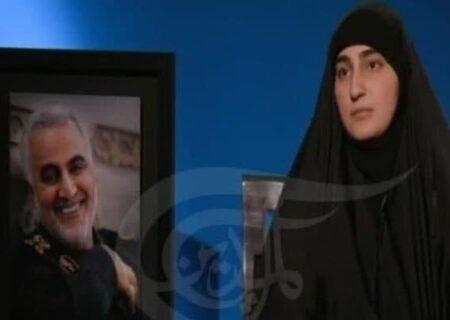 زینب سلیمانی: پدرم خود را سرباز مردم ایران و رهبری میدانست