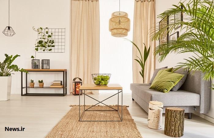 Greenery ۵ ترفند برای جذاب تر کردن منزل / تجهیز دکوراسیون داخلی منزل به بهترین روش ها