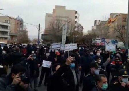 صدای اعتراض تبریز بلند شد
