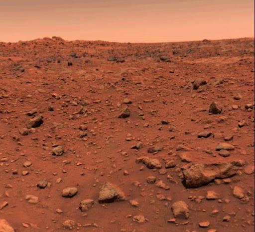 زندگی در زیر سطح مریخ
