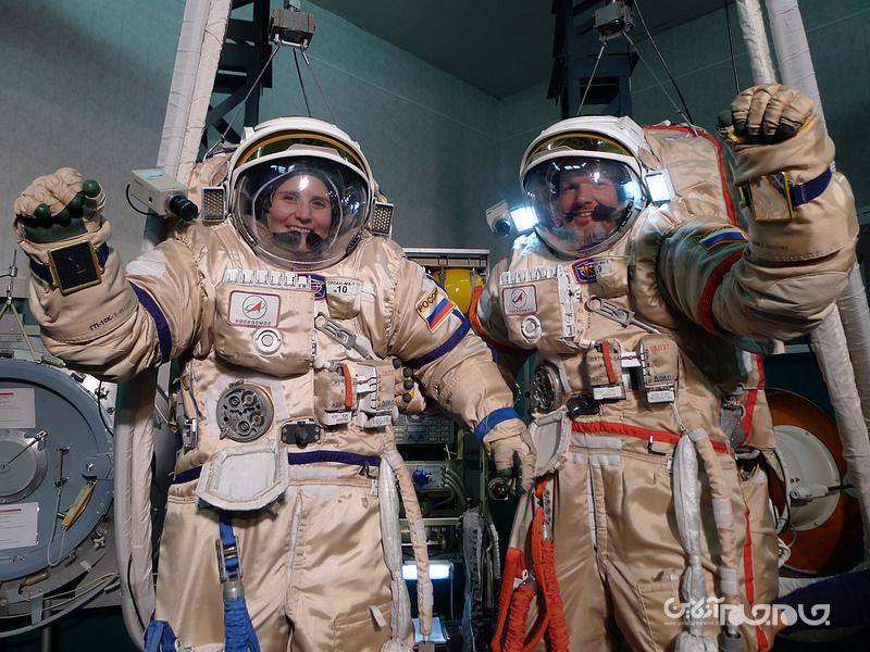 عجیب ترین آزمایشات انسانی در فضا+عکس