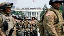 آمادهباش گارد ملی آمریکا در« واشنگتن دیسی» برای مقابله با خشونت طرفداران ترامپ