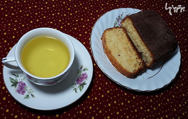آموزش تهیه کیک چای و دارچین هابیتون