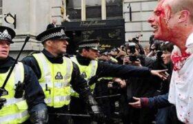 نقش بارز انگلیس در نقض حقوق بشر در بسیاری از کشورها