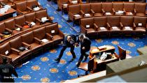 بحران در آمریکا  نگرانی از تکرار حادثه حمله به کنگره در روز ۲۰ ژانویه