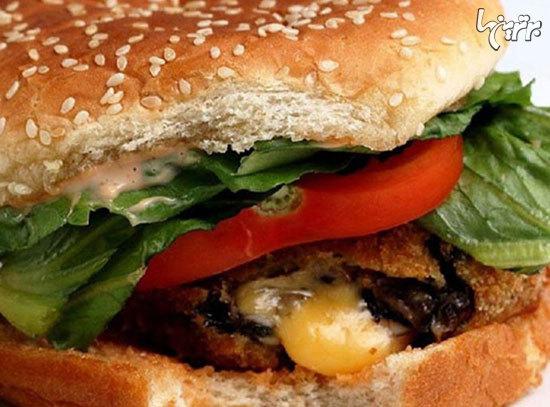 برگر های خانگی دلچسب ترین غذاهای آماده و فست فودی