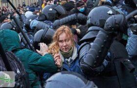 تظاهرات علیه پوتین در منفی ۶۰ درجه