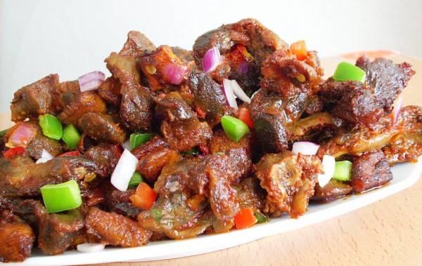 خوراک جگر مرغ؛ غذایی خوشمزه و لذیذ و سالم!