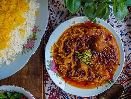 خورش خلال بادام کرمانشاهی، بی نظیرترین خورش ایرانی