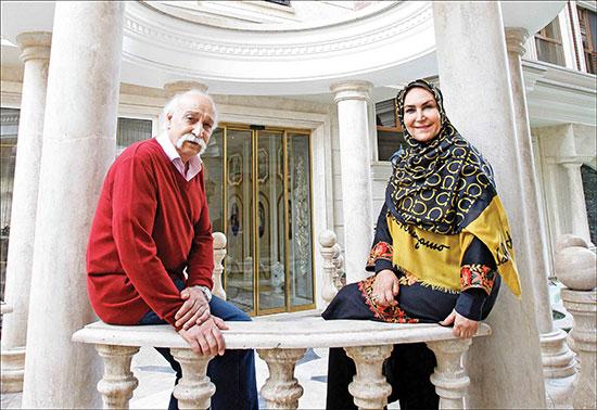 راز ۴۰ سال زندگی عاشقانهی محمود پاکنیت و مهوش صبرکن