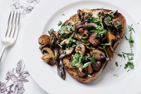 آموزش ساندویچ قارچ و سیر ،راحت وخوشمزه