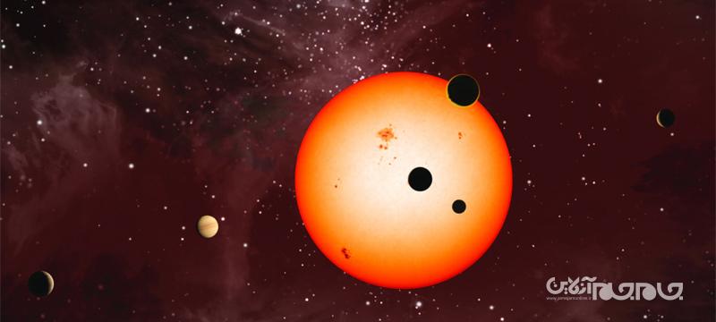 ستاره شناسان یک منظومه ۶ سیارهای با هارمونی مداری بیسابقه را کشف کردند+عکس