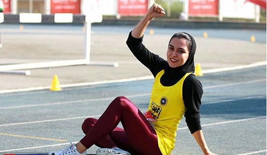 فرزانه فصیحی؛ دختر باد، سریعترین زن ایران