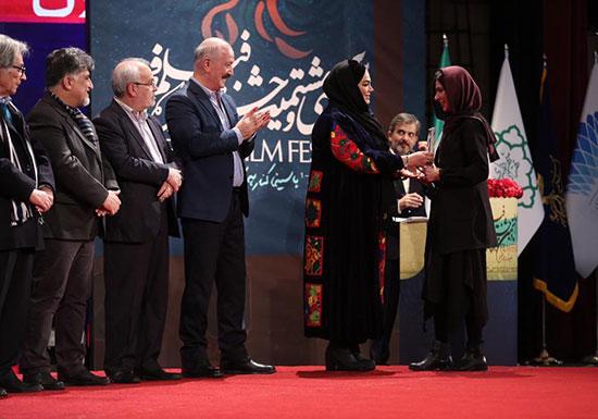 بهترین بازیگر زن جشنواره ؛ نازنین احمدی