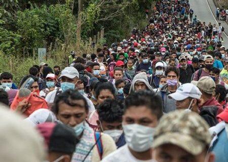 مهاجران هندوراسی فوراً به کشورتان بازگردید