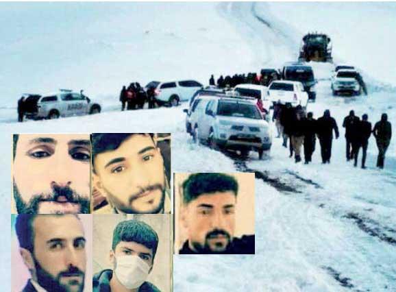کارشکنی ترکیه در نجات کولبرها (+عکس)