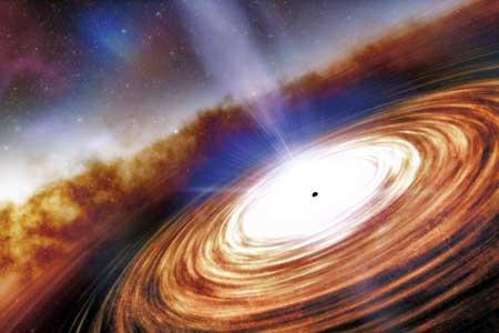 کشف پرجرمترینوجوانترین سیاهچاله عالم تا به امروز