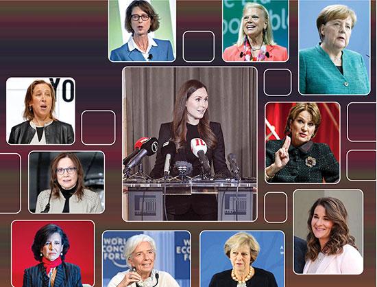 ۱۰ زن پرنفوذ جهان به انتخاب مجله فوربس