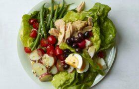 طرز تهیه سالاد ضد دود یک تغذیه سالم و متعادل