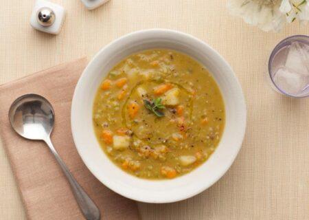 طرز تهیه سوپ نخود مدیترانه ای خوشمزه و لذیذ