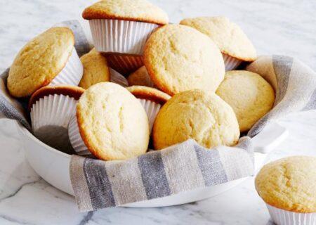 طرز تهیه مافین نان ذرت شیرین و ترد برای صبحانه