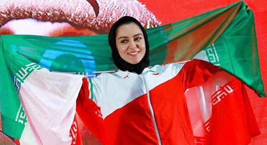 سریعترین زن ایران جهانی شد