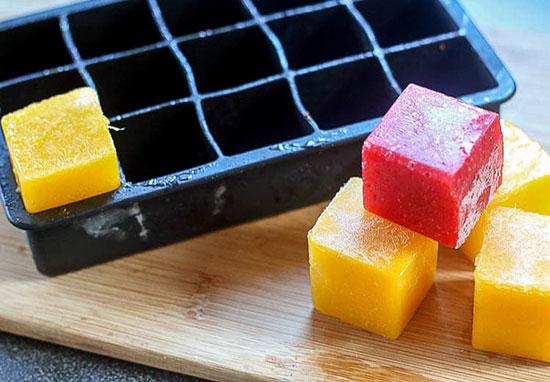 یخ های رنگارنگ؛ پر از ویتامین و مخصوص بچه ها!