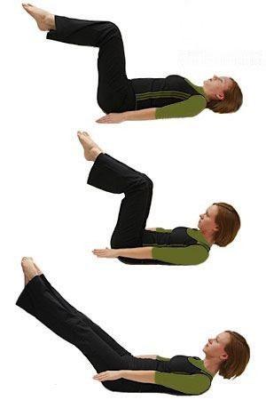 تقویت کمر و شکم برای باردار شدن