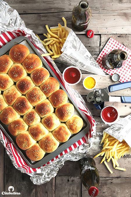 مینی چیزبرگر شکم پر؛ ساندویچی جمع و جور و بدون دردسر