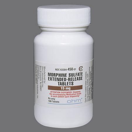 موارد استفاده و عوارض مورفین