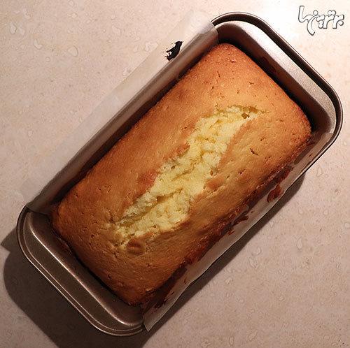 طرز تهیه پاند کیک وانیلی