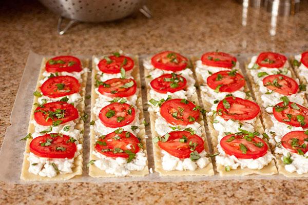 لازانیا گوجه و پنیر (ایتالیایی)